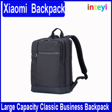 Original Xiaomi Classic Business Backpack Schoolbag College Students Backpacks Large Capacity Business Bags for Laptop Black