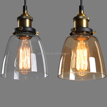 Kitchen Pendant Light Island Ceiling Lamp Glass, Easy Style Home Decor Light--3 Light
