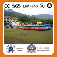 Hot Selling Giant Colorful Inflatable Slide