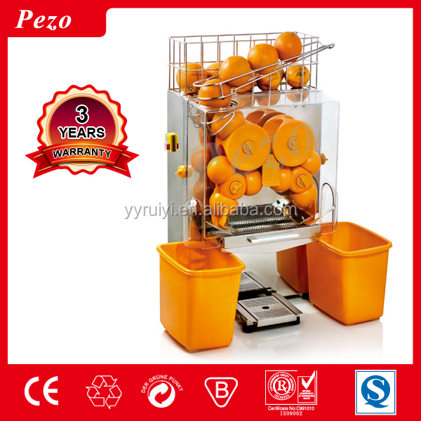 STAINLESS STEEL COMMERCIAL FRESH <strong>ORANGE</strong> FRUIT JUICER