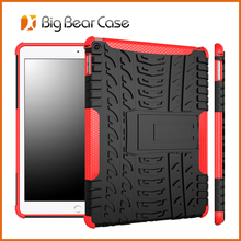 Heavy duty combo soft touch phone case for ipad 6