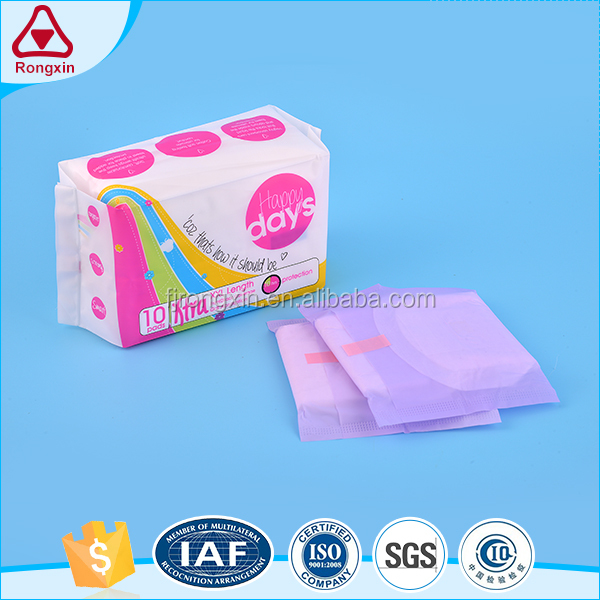 Factory export cheap feminie hygiene products ultra clean sanitary napkin for night