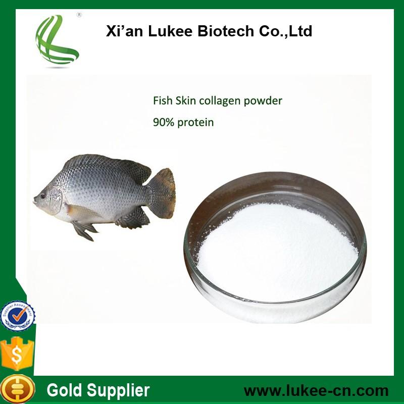 Pure marine collagen fish collagen peptide powder for for Fish collagen powder