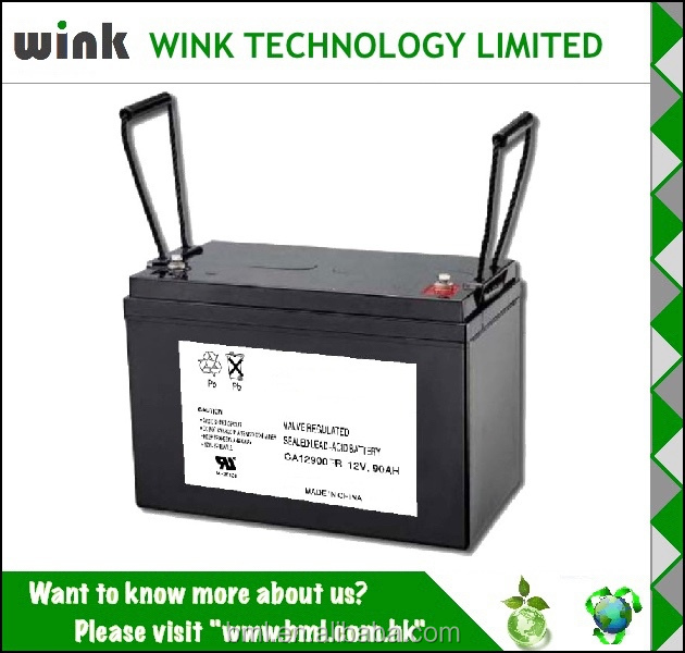 Excellent Quality 12v 90ah Storage Battery
