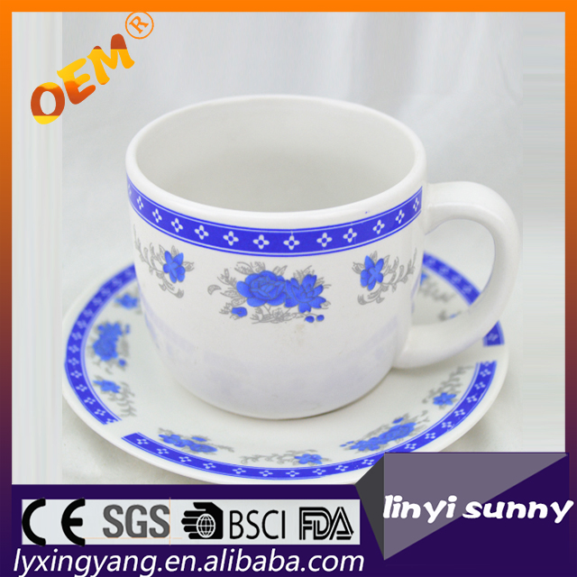 fashion stripe China factory direct ceraimc Coffee Cups and saucers,bone china tea cups and saucers