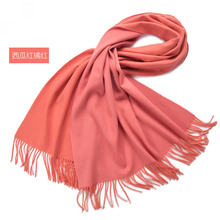 SF17215016 Large Extra Soft Wool Double Side Women Pashmina Shawl Wrap Stole Scarf