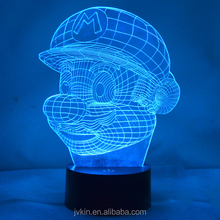 Creative 3D LED table light colorful night light color cube vision lights