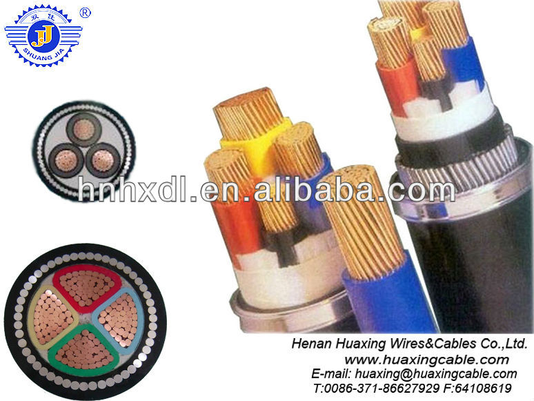 xlpe power copper cable