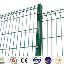 Curved hot-dip galvanized welded wire fence panel with low price
