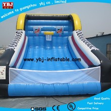 2015 promotion inflatable basketball court for sports game, adult inflatable hoop, new inflatable basketball shooting game