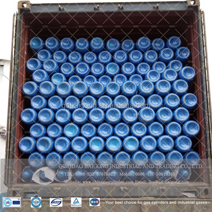 Factory Supply Seamless Steel Oxygen gas cylinder, Oxygen Cylinder