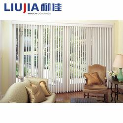 Wholesale Outdoor Plastic Clear Vertical Blinds