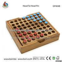 wooden brain training games Head to Head Pin