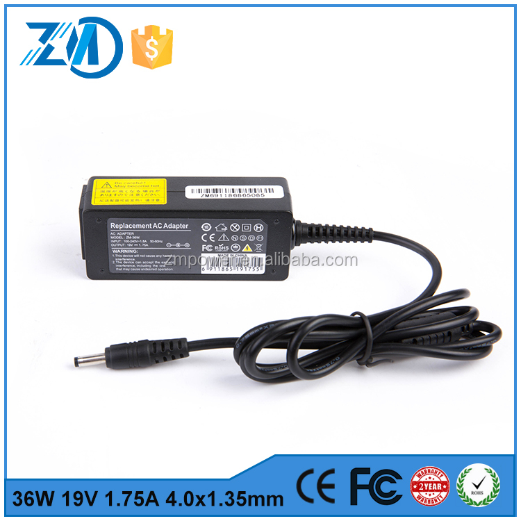 ac adapter 120v 60hz charger power charger ac adapter for asus 19v 1.75a