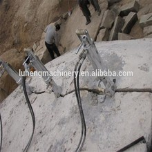 Quarry Stone Cutting Machine/Hydraulic rock splitter - LUHENG