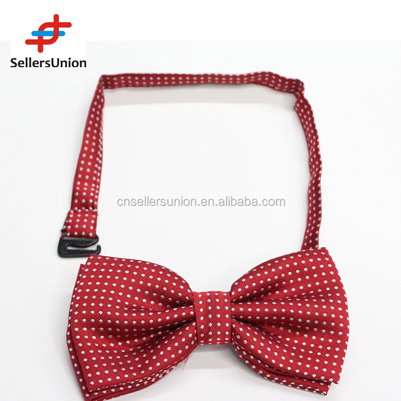 Fashing boys 2 layer dot pattern bow tie bow tie for man suit10029726