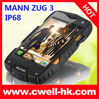 4 inch MANN ZUG 3 ip68 dual core waterproof shockproof smart phone