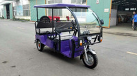 I CAT battery operated electric tricycle for passenger 3 wheel e-rickshaw/taxi for India