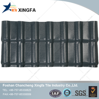 Roofing Plastic Shingles Synthetic Roof Tile And PVC Plastic Roof Tile Xingfa