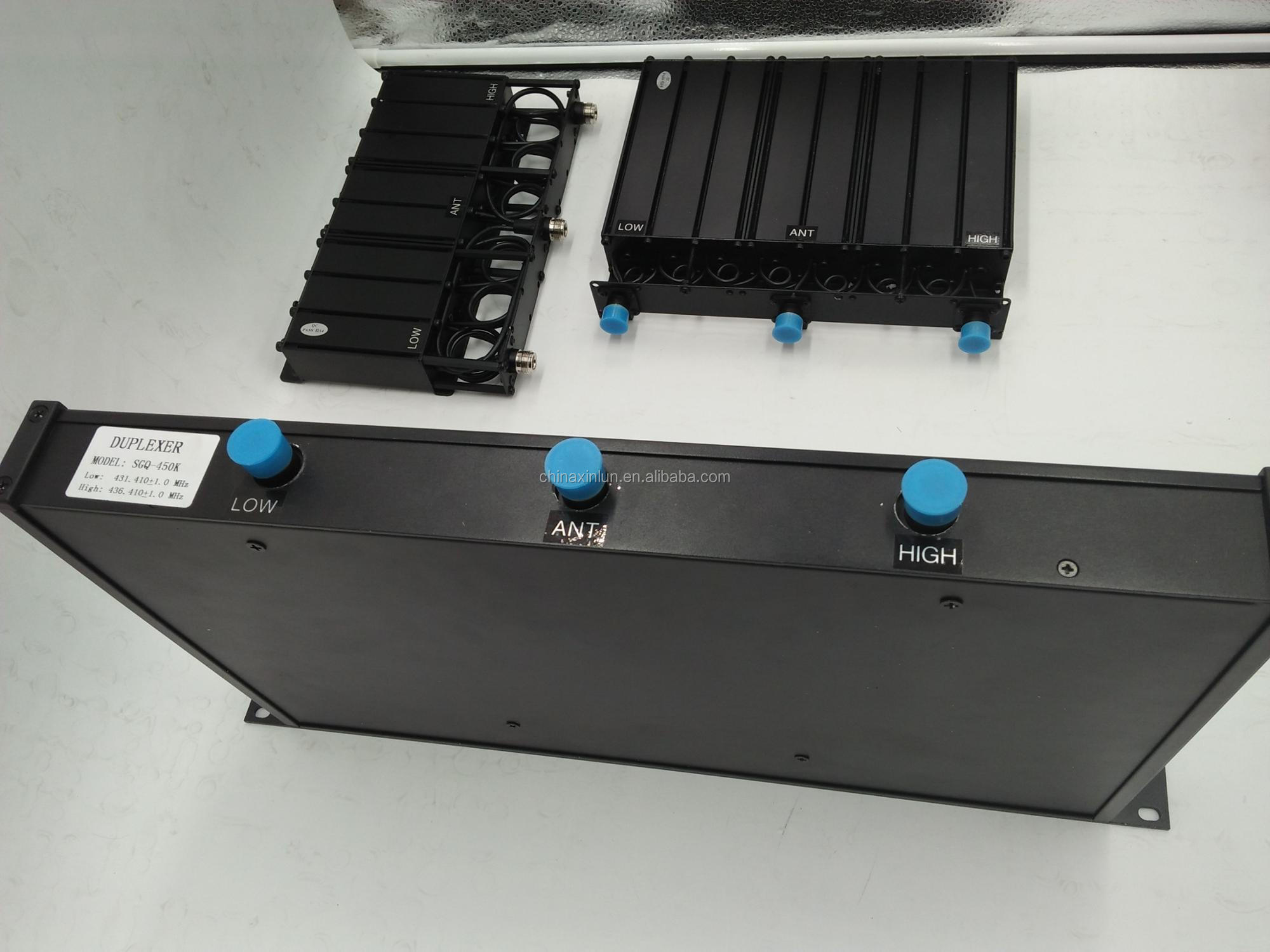 High Power 100W VHF Wideband Duplexer with 19 Inch Case