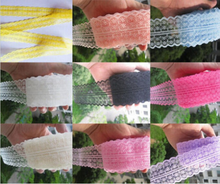 45MM Width lace ribbon DIY decorative lace trim fabric wedding birthday Christmas decorations 33 color 300y/roll