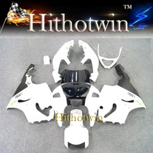 1996 1997 1998 1999 2000 2001 2002 2003 ZX7R For Kawasaki zx 7r white black Fairing zx7r ZX750 Ninja ZX7R 1996 - 2003