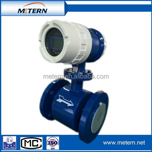 2015 hot sales RV-100E electromagnetic water flow meter
