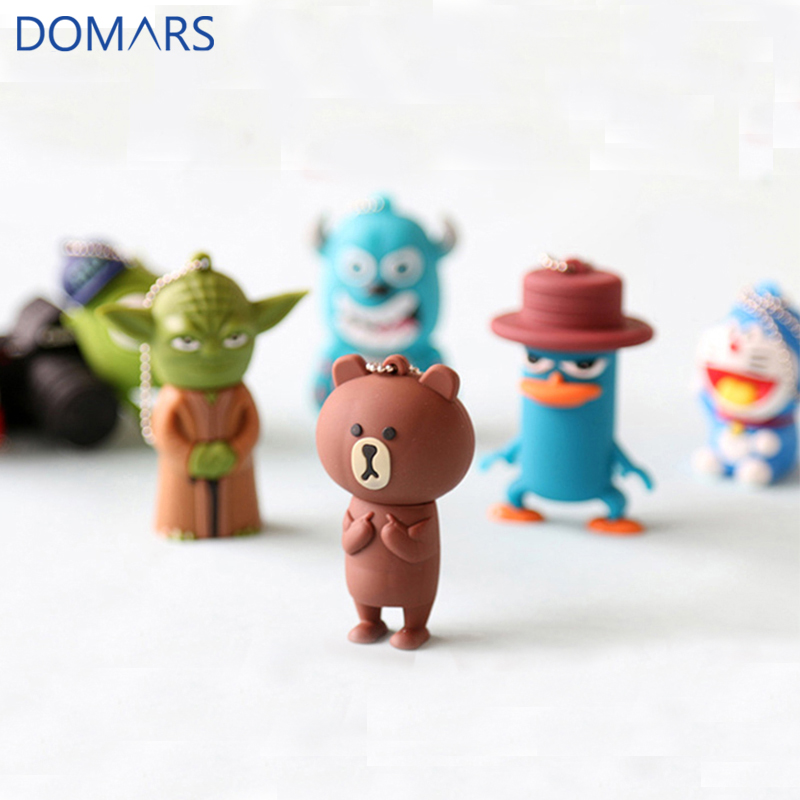 3D Film Cute Cartoon Characters USB <strong>Flash</strong> Drive 2.0 for Promotion 16GB U Disk