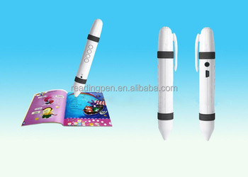 Hot Selling High Quality Children Book reader Smart Bluetooth Reading Pen for kids