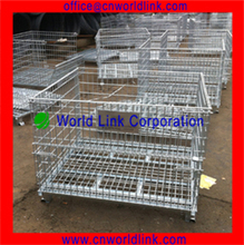 Heavy Duty Storage Cage With Wheels