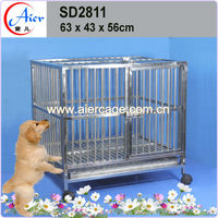 large steel dog cage pet strong metal house