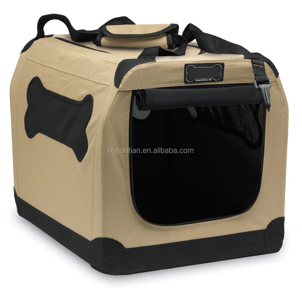 Hoopet Port-A-Crate E2 Indoor/Outdoor Pet Home Carrier