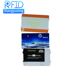 Customised printing thermal paper entrance admission rfid ticket for Event, bus , metro ,etc