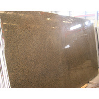 Hot sale high quality tropical brown galaxy granite slabs m2 price