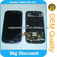 for samsung i9300 galaxy s3 lcd touch display screen Original new factory price