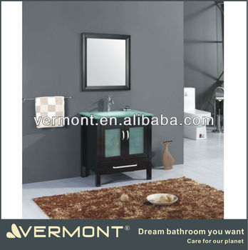 dark brown bathroom vanity made in China