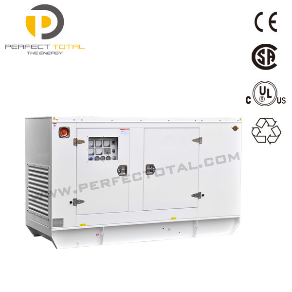 Soundproof type 91.3kva diesel generator set with PERKINS engine