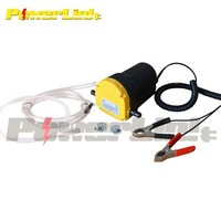 Z70043 12V Oil Fluid Extractor Transfer Pump Electric Siphon Car Motorbike Remove BST1017