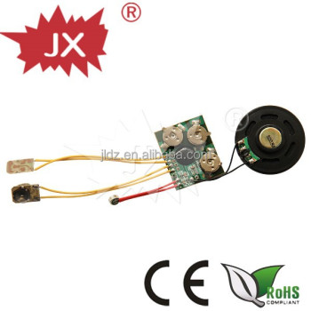 Greeting Card sound module/mini programmable sound module with customized music