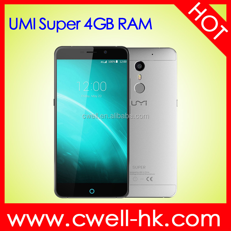 UMI Super 5.5 inch FHD Touch Screen MTK6755 Octa Core Andriod 6.0 4GB RAM 32GB ROM 13MP Back Camera 4G Mobile Phone Price List