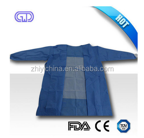 non woven good hospital operation theatre gown