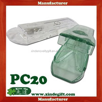 Safety Pill cutter Pill Case, Medical tablet cutter pill holder, Pill splitter pill box equipped with stainless steel blade