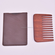 OEM WOODEN COMB HAIR & BEARD COMB POCKET COMB