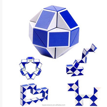 TTY6906-19 Educational Puzzles Children Twist Puzzle Toys Magic Snake Shape Toys Game 3D Cube