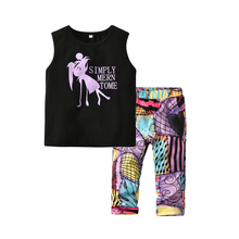 2019 New fashion boy clothing <strong>set</strong> <strong>children's</strong> boutique clothes outfits toddler boys T shirt and short