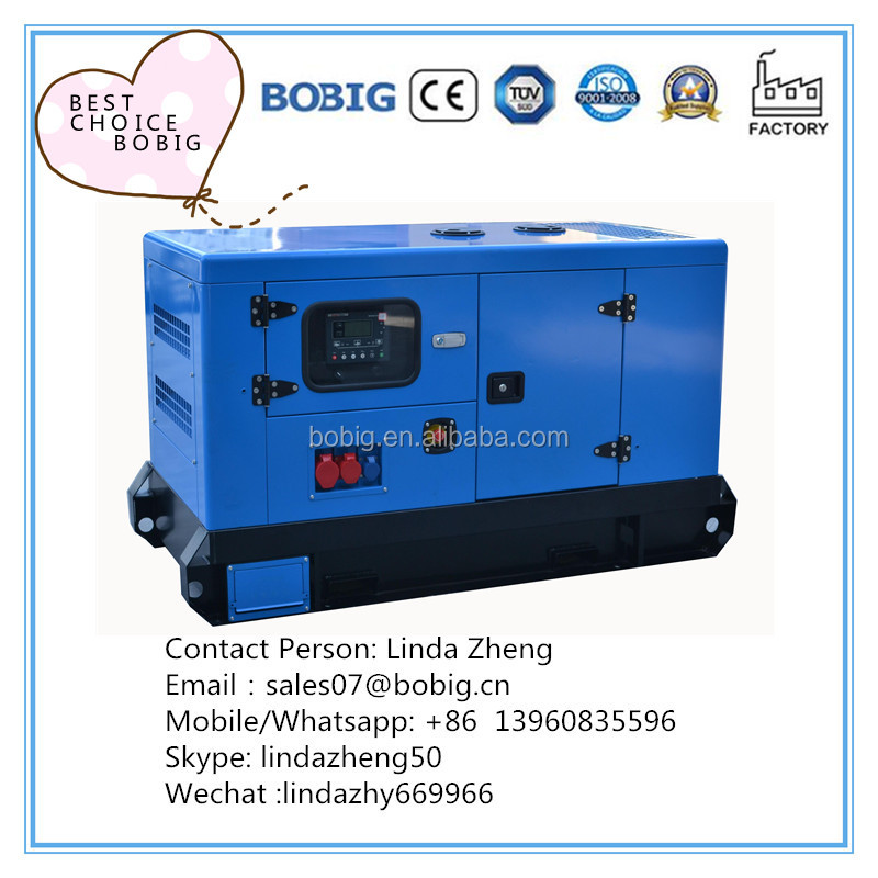 Best Choise Factory 12kw 15kva Kubota water-cooled diesel enerator