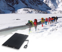 Hot sale high quality and high power solar panel charger, portable solar power charger for travelling and hilking