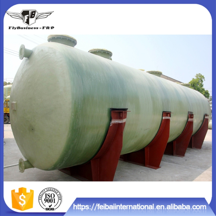 Light Weight High Strength good anti-aging performance frp/grp petrol storage tank