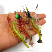 Hot Sale! Boat Fishing Bass Noctilucence Black Yellow Croaker Soft Bait