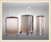 fashion cheap trolley suitcase stock abs trolley suitcase factory